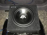 Установка сабвуфера ESX SX1240 в Toyota Celica
