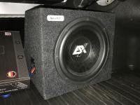Установка сабвуфера ESX SX1240 в Toyota Camry V70