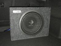 Установка сабвуфера Helix K 10W box в Mercedes CLA (C117, X117)