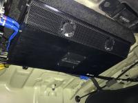 Установка усилителя Audio System R-110.4 в KIA Optima