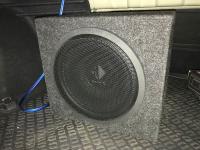 Установка сабвуфера Helix K 12W box в KIA Optima