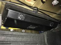 Установка усилителя Audio System X-80.6 в Toyota Camry V50