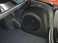 Установка сабвуфера Helix K 12W в Toyota Camry V50