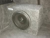 Установка сабвуфера Helix K 10W box в Audi A3 (8V)