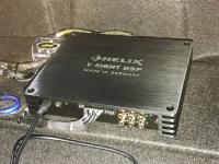 Установка усилителя Helix V EIGHT DSP в Mini Clubman F54