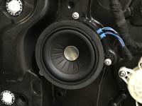 Установка акустики Eton B 100 W в BMW 3 (G20)