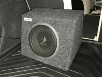 Установка сабвуфера Helix K 10W в BMW 3 (G20)