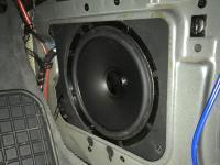 Установка акустики Pioneer TS-A1600C в BMW 5 (E34)
