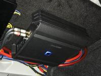 Установка усилителя Art Sound XE 1K в BMW 4 (F36)