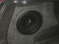 Установка сабвуфера Helix K 10W в BMW 1 (E81)