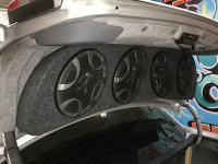 Установка акустики Hertz ECX 690.5 в Volvo S70
