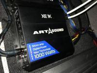 Установка усилителя Art Sound XE 1K в Volvo S70