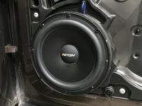 Установка акустики Eton POW 200.2 Compression в Volkswagen Touareg II NF
