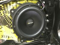 Установка акустики Eton POW 200.2 Compression в Lexus ES (XV70)