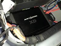 Установка усилителя Art Sound XD 1200.1 в Jaguar XE