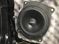 Установка акустики Eton POW 200.2 Compression в Toyota Camry V55