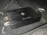 Установка усилителя Helix M FOUR в Toyota Camry V55