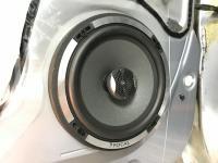 Установка акустики Focal Performance PC 165 в Mitsubishi Pajero Sport