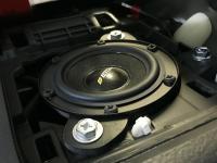 Установка акустики Eton PRW 80 в Toyota Land Cruiser 150