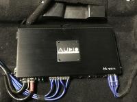 Установка усилителя Audio System M-90.4 в Lada Vesta