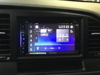 Фотография установки магнитолы Pioneer AVH-Z1100DVD в Hyundai Elantra VI