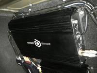 Установка усилителя SoundQubed S1-1250 в Hyundai Sonata VII