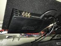 Установка усилителя Helix V EIGHT DSP в Volvo S90