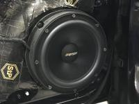 Установка акустики Eton POW 200.2 Compression в Audi A5