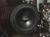 Установка акустики Eton POW 200.2 Compression в Skoda Yeti