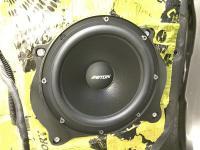 Установка акустики Eton POW 200.2 Compression в Toyota Sienna III