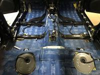 Установка Comfort Mat BlockShot в Subaru XV