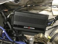 Установка усилителя Art Sound iX 1 в Lexus SC 430