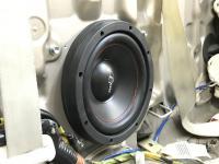 Установка сабвуфера Challenger Opus SD-250FA в Lexus SC 430