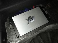 Установка усилителя ESX QE80.6DSP в Ford Kuga II