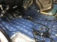 Установка Comfort Mat BlockShot в Volkswagen Transporter T6