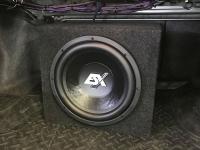 Установка сабвуфера ESX SX1240 в Honda Accord 8
