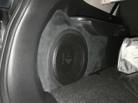 Установка сабвуфера Helix K 10W в Nissan X-Trail (T32)