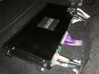 Установка усилителя Audio System M-90.4 в Mazda 6 (III)