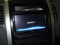 Фотография установки магнитолы Sony XAV-E70BT в Nissan X-Trail (T31)