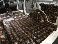 Установка Comfort Mat Dark D3 в Mitsubishi Pajero Sport