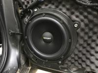 Установка акустики Eton POW 200.2 Compression в Mazda 6 (III)