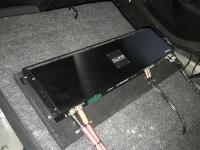 Установка усилителя Audio System X-170.4 в Mazda 6 (III)
