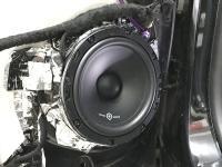 Установка акустики SoundQubed QS-6.5 в Citroen C5