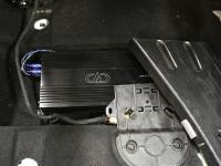 Установка усилителя DD Audio D4.100 в Citroen C4L sedan