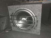 Установка сабвуфера ESX SX1240 в Mercedes E class (W213)