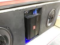 Установка усилителя JBL Stage A9004 в Corvette Stingray