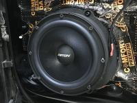 Установка акустики Eton POW 200.2 Compression в Audi Q7 II (4M)