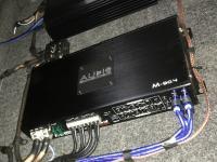 Установка усилителя Audio System M-90.4 в Skoda Octavia (A4)