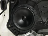 Установка акустики Ground Zero GZRC 165.2SQ в Mercedes CLA (C117, X117)