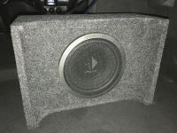Установка сабвуфера Helix K 10W в Mercedes CLA (C117, X117)